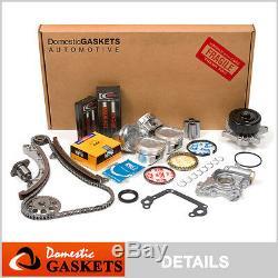 00-08 Toyota Corolla Celica Matrix MR2 Prizm Vibe 1.8L Engine Rebuild Kit 1ZZFE