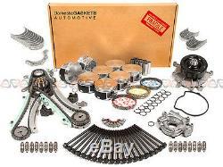 02-03 Dodge Dakota Durango Ram 1500 4.7L SOHC Master Overhaul Engine Rebuild Kit