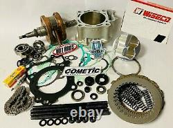 04-09 CRF250R CRF 250R Big Bore Stroker Motor Engine Rebuild Redo Complete Kit