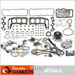 05-12 Jeep Liberty Dodge Ram Durango Dakota 3.7L SOHC Engine Rebuilding Kit K