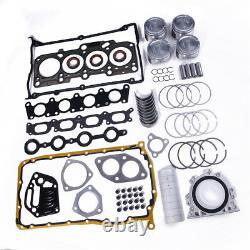 1.8T Engine Rebuilding Kits Overhaul Package For VW Jetta Mk4 99-06