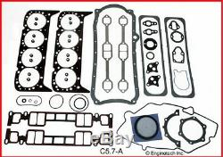 1996-2002 Chevy Gm 350 5.7l V8 Vortec Remain Rering Kit Gaskets Rings Bearings