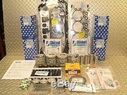 1kz-te 3 Litre Turbo Diesel Long Engine Rebuild Kit Suits Hilux Kzn165