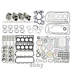 2008-2010 FORD 6.4L POWERSTROKE DIESEL REBUILD KIT With MAHLE PISTONS