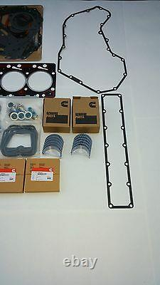 6BT QUALITY RE-RING REBUILD KIT with ROD & MAIN BEARINGS For CUMMINS 12V 5.9 P7100