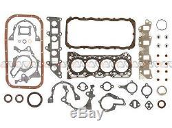 86-95 Suzuki Samurai Sidekick 1.3L SOHC Overhaul Engine Rebuild Kit G13A