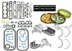 88-91 Toyota Corolla Gts Mr2 1.6l Dohc 4agec 4age Engine Re-ring Kit