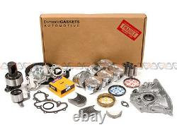 89-92 Toyota 4Runner Pickup 3.0L SOHC Engine Rebuild Kit 3VZE -1 pipe