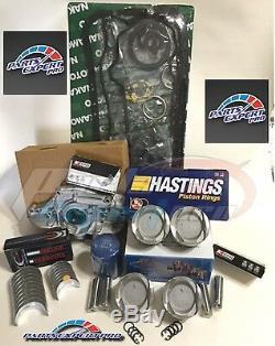 92-95 Honda CIVIC Engine Rebuild Kit Ycp 75mm Vitara Low Compression Pistons