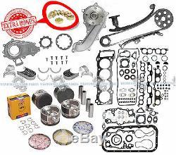 95-04 Toyota Tacoma 2.4l 2rzfe Dohc Brand New Overhaul Master Engine Rebuild Kit