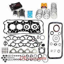96-01 Acura Integra B18B Engine Re-Ring Kit Full Gasket Set Bearing Piston Rings