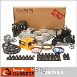 96-02 Chevrolet GMC Cadillac 5.7L OHV Vortec Master Engine Rebuilding Kit VIN R