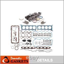 97-99 Ford Lincoln 5.4L SOHC Full Gasket Set Bearings & Rings Non(PI)Piston Set