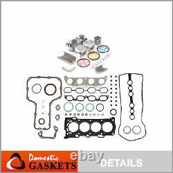 98-08 Toyota Corolla Celica MR2 Matrix 1.8L Gasket Piston&Bearing&Ring Set 1ZZFE