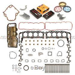 99-03 Jeep Grand Cherokee Dodge Ram Durango Dakota 4.7L Engine Re-Ring Kit+Bolts