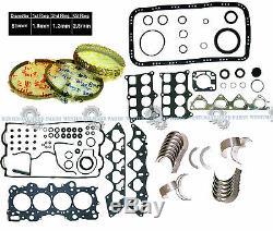 Acura Integra GSR Type-R 1.8 B18C1 B18C5 Engine Rebuild RE-RING KIT KING BEARING