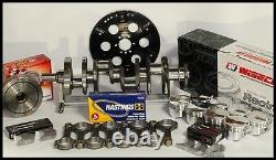 BBC 454 ROTATING ASSEMBLY SCAT CRANK & WISECO FORGED PISTONS 454+25cc-4.310-2pc