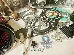 Banshee Complete Motor Rebuild Cylinders Crank Head Filter Engine Kit Wiseco