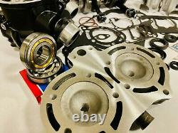 Banshee Cylinders Motor Engine Rebuild Kit Complete Top Bottom Crank Head Wiseco