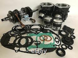 Banshee Stock Complete Motor Engine Rebuild Kit Top Bottom End Wiseco Crank Set