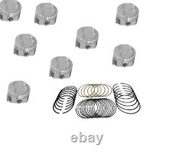 Chevy 302 Engine Kit Z28 Forged dome pistons rings gaskets timing 1968-69 NO CAM