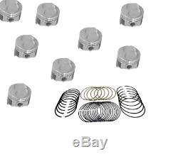 Chevy 302 MASTER Engine Kit Z28 Forged dome pistons 1968-69 solid cam Lg Jrnl