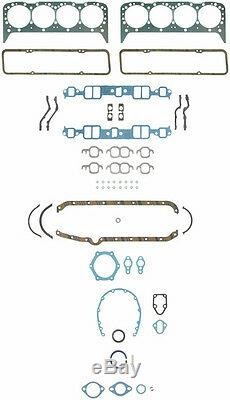 Chevy 327/350HP L79 Engine Kit Forged Pistons+Moly Rings+Gaskets+Bearings 68-69