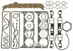 Chevy 350 5.7 MASTER REBUILD Engine Kit Flat FORGED Pistons 279 Comp Thumpr Cam