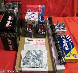Chevy 350/5.7 VIN-K MASTER Engine Kit Pistons+Rings+Cam+ Valve Springs 1987-94