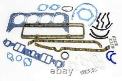 Chevy 350 Stage 3 master rebuild engine kit pistons bearings gaskets cam 1969-79