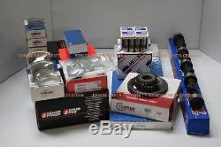 Chevy 350 Stage 3 master rebuild engine kit pistons bearings springs cam 68-79