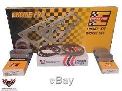 Chevy Chevrolet 327 350 5.7 Sbc 68-79 Engine Pro Re Ring Rebuild Kit