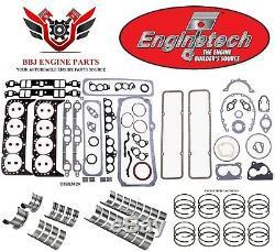 Chevy Chevrolet 350 5.7 Sbc 1986 1995 Enginetech Rering Rebuild Kit