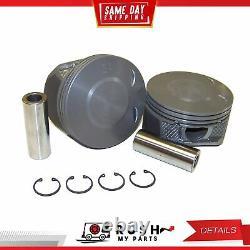 DNJ EK3137 Engine Rebuild Kit For 07-12 Chevrolet GMC Canyon 3.7L L5 DOHC 20v