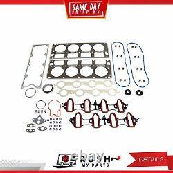 DNJ EK3165A Engine Rebuild Kit For 99-01 Chevrolet GMC Sierra 1500 5.3L OHV 16v
