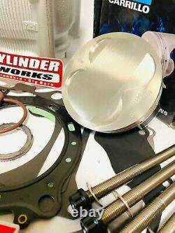 DRZ400 DRZ 400 400SM 400S Stroker Big Bore Rebuilt Motor Engine Rebuild Kit 470