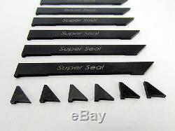 East Coast Rotary 2mm Super Seal Apex Seals RX-7 86-96 13B Rotary Engine Mazda