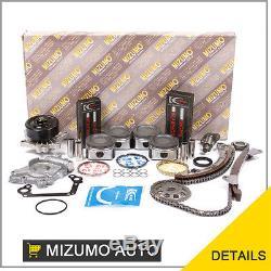 Engine Rebuild Kit Fit 00-08 Toyota Chevrolet 1.8L DOHC 1ZZFE
