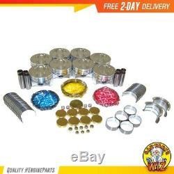 Engine Rebuild Kit Fits 96-02 Cadillac Chevrolet C1500 Suburban 5.7L OHV 16v