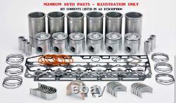 Engine Rebuild Kit Fits Toyota 1hd-t 12v Turbo Diesel Motor