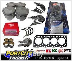 Engine Rebuild Kit Toyota 4cyl 3L 2.8L Hilux LN86 LN106 LN107 LN111 Diesel