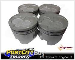 For Toyota Hilux LN130 Crankshaft Thrust Bearings 3L