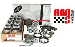 Engine Rebuild Kit with Flat Top Pistons for 2001 2002 2003 Chevrolet GMC 325 5.3L