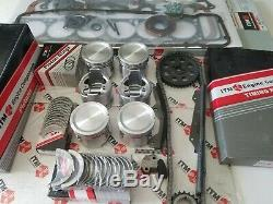 Engine Rebuild kit Pistons & Rings Brgs Gaskets + fits Nissan 280ZX Turbo 81-83