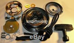 Engine Recoil Pull Pulley Starter Rebuild Kit for 1980-1983 Honda ATC 185 185S