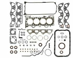 FIT 88-95 Honda Civic 1.5L D15B1 D15B7 D15B8 Master Rebuild Kit KING BEARINGS