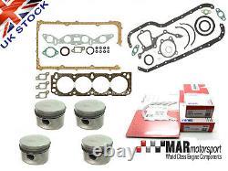 FORD Pinto RS2000 Sierra Capri Engine Rebuild Kit Gaskets Pistons Bearings