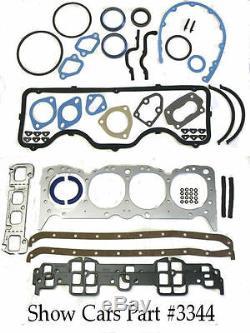 Fel-pro Fs 8007 Pt-3 64,63,62,61, Chevrolet 348 409 Engine Rebuild Gasket Set Kit