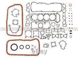 Fit 90-97 Nissan D21 Pickup 2.4L SOHC Master Overhaul Engine Rebuild Kit KA24E