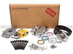 Fit 92-95 Honda Civic EX Si De So Si 1.6 Overhaul Engine Rebuild Kit D16Z6